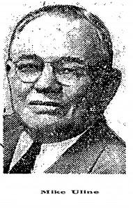 Foto uit krant